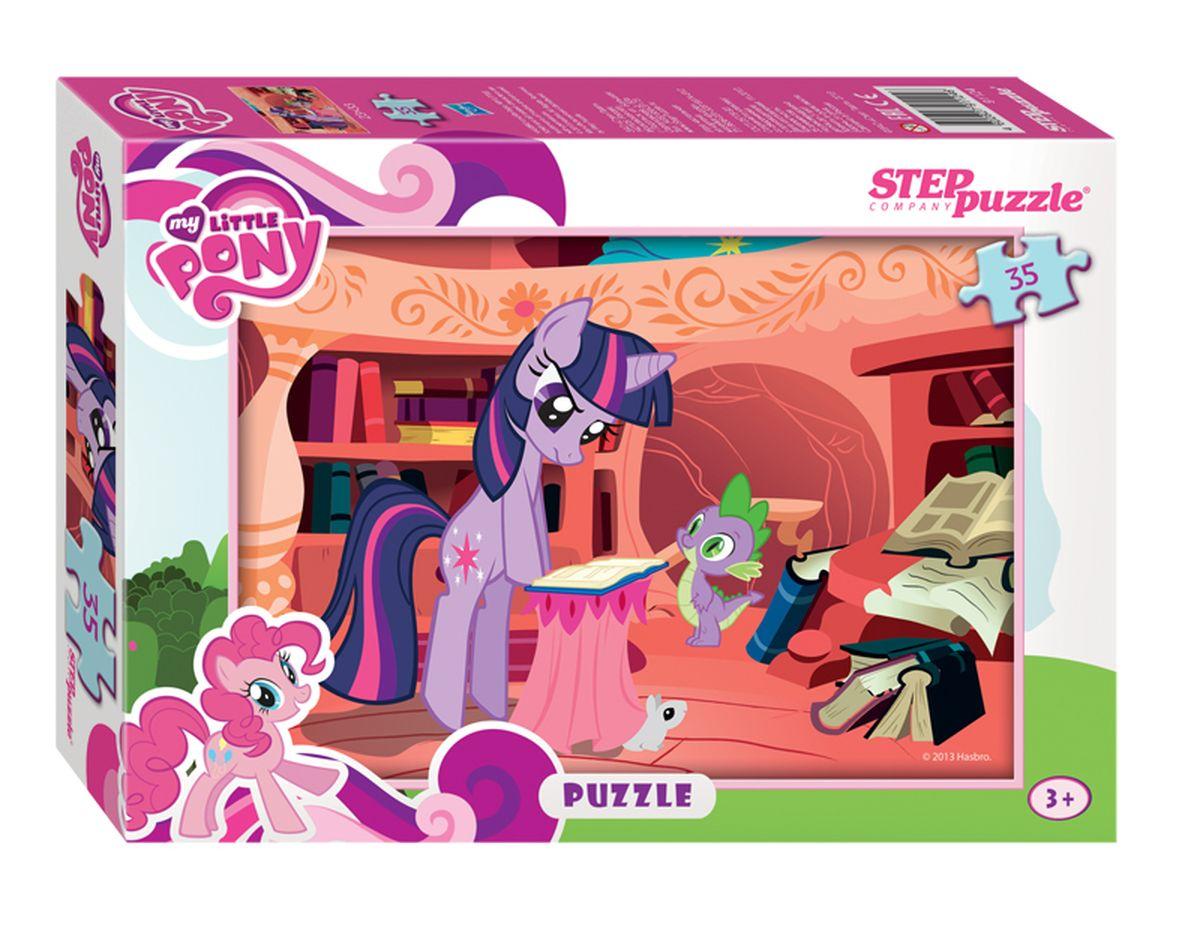 Step Puzzle Мозаика Мой маленький пони91124Знаменитые маленькие пони Hasbro приглашают в свой волшебный мир. Собирайте пазлы и участвуйте в сказочных приключениях вместе c очаровательными пони Сумеречной Искоркой, Радугой Дэш, Рарити, Флаттершай, Пинки Пай, Эпплджек.