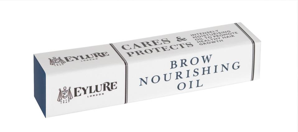 Eylure Питательное масло для бровей Brow Nourishing Oil 6 мл6008112Нежное масло с натуральным ароматом и активной формулой обогащено маслом розмарина, которое способствует росту бровей. Кроме того, содержит масло герани, масло можжевельника, масло сладкого миндаля и масло арганы для кондиционирования, питания и ухода за бровями. Идеально подходит для ночного ухода.