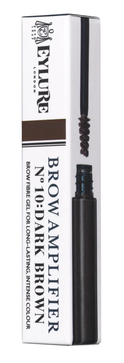 Eylure Цветной гель для формирования бровей Brow Amplifier - 10 DARK BROWN Темно-коричневый 3 мл6008126Универсальный продукт для создания роскошных бровей позволяет смоделировать нужную форму, придать оттенок и зафиксировать. Устойчивый эффект и идеальные ухоженные брови. Доступен в темно-коричневом, коричневом и светлом оттенке.