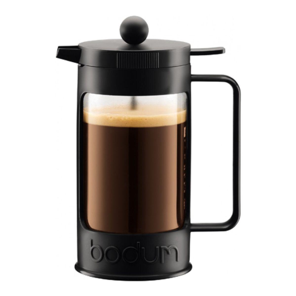 Кофейник Bodum Bean, с прессом, 0,35 л11375-01Кофейник с прессом Bean 0.35л