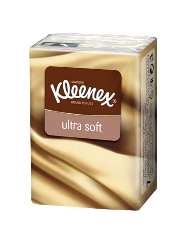 Kleenex Платочки носовые Ультрасофт мини 7 х 12 шт