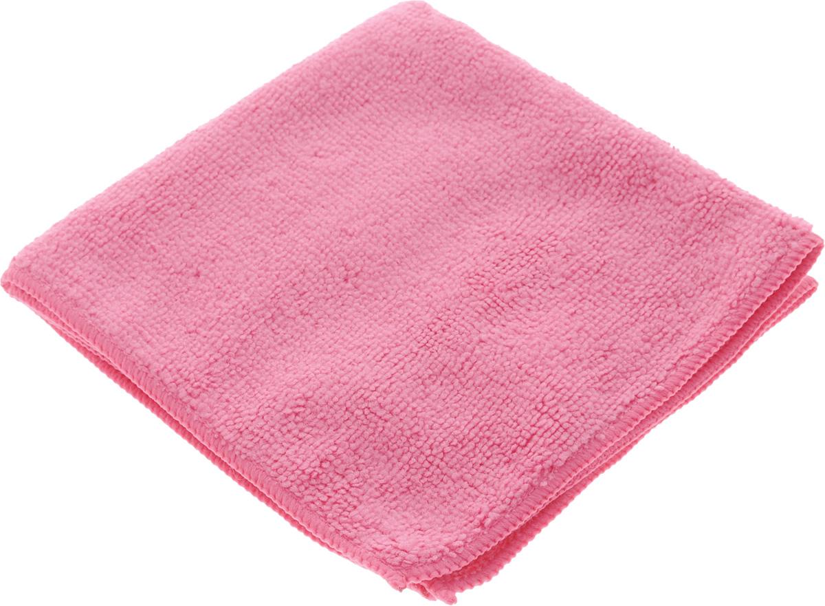 Салфетка для уборки Sol из микрофибры, цвет: розовый, 30 x 30 см10007/10052_розовыйСалфетка Soll выполнена из микрофибры. Микрофибра - это ткань из тонких микроволокон, которая эффективно очищает поверхности благодаря капиллярному эффекту между ними. Такая салфетка может использоваться как для сухой, так и для влажной уборки. Деликатно очищает любые поверхности не оставляя следов и разводов. Идеально подходит для протирки полированной мебели. Сохраняет свои свойства после стирки. Рекомендации по применению и уходу: Для обеспечения гигиеничности рекомендуется прополаскивать салфетку после каждого применения с моющим средством. Для сохранения мягкости не рекомендуется сушить вблизи отопительных приборов и на батареях. Нельзя стирать с отбеливающими средствами, кипятить и гладить.