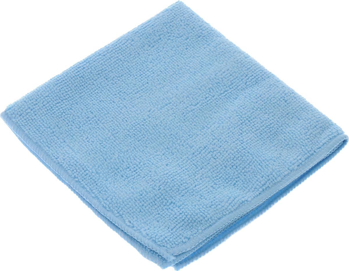 Салфетка для уборки Sol из микрофибры, цвет: голубой, 30 x 30 см10007/10052_голубойСалфетка Soll выполнена из микрофибры. Микрофибра - это ткань из тонких микроволокон, которая эффективно очищает поверхности благодаря капиллярному эффекту между ними. Такая салфетка может использоваться как для сухой, так и для влажной уборки. Деликатно очищает любые поверхности не оставляя следов и разводов. Идеально подходит для протирки полированной мебели. Сохраняет свои свойства после стирки. Рекомендации по применению и уходу: Для обеспечения гигиеничности рекомендуется прополаскивать салфетку после каждого применения с моющим средством. Для сохранения мягкости не рекомендуется сушить вблизи отопительных приборов и на батареях. Нельзя стирать с отбеливающими средствами, кипятить и гладить.