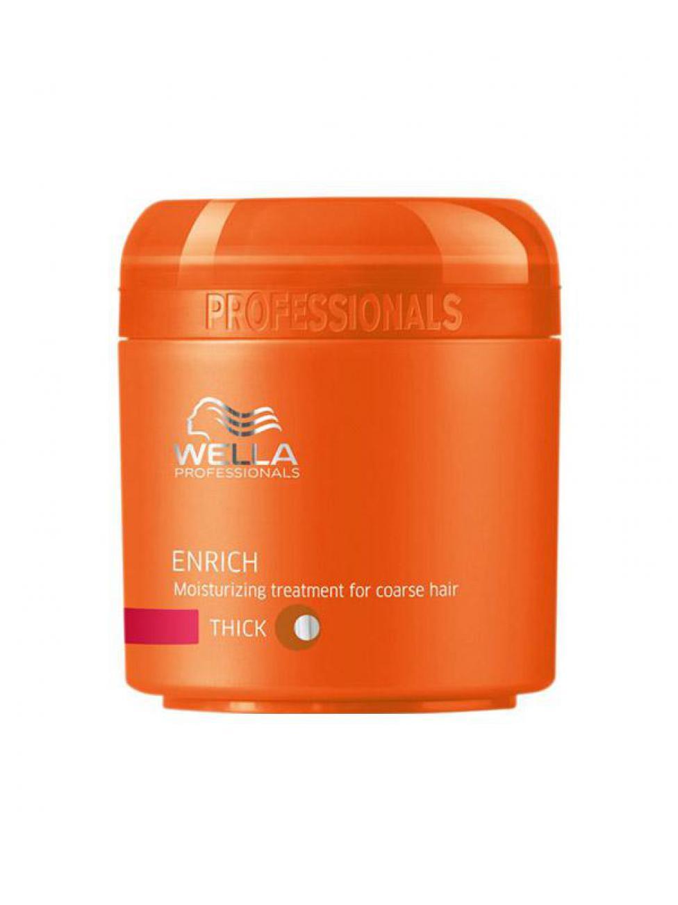 Wella Питательная крем-маска Enrich Line для жестких волос, 150 мл
