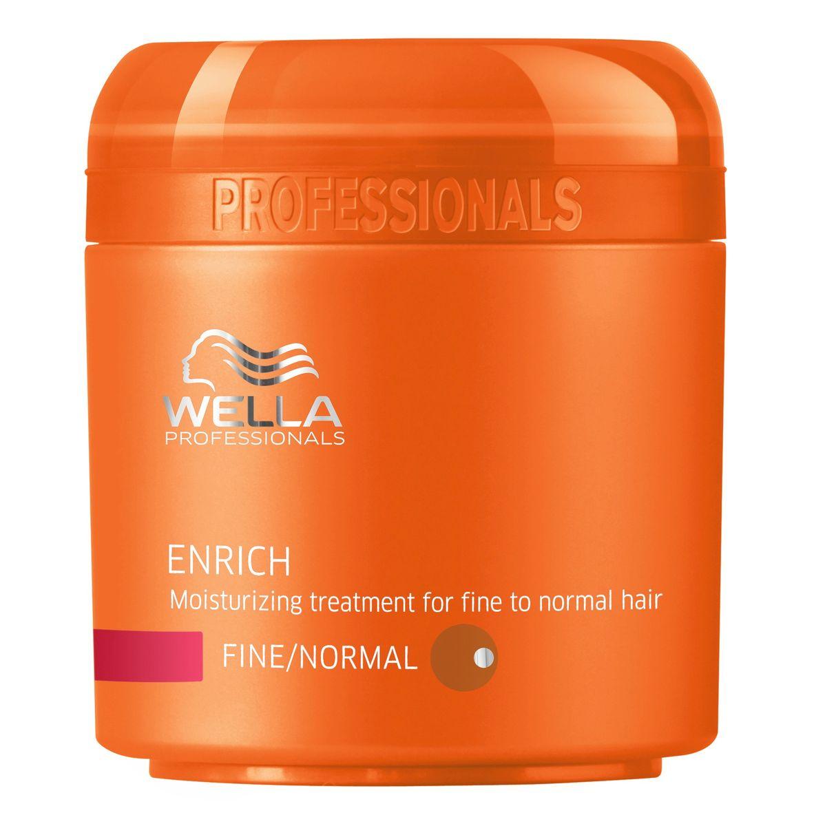 Wella Питательная крем-маска Enrich Line для нормальных и тонких волос, 150 мл