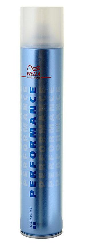 Wella Лак для волос экстрасильной фиксации Performance, 500 мл17262Wella Performance лак для волос экстрасильной фиксации предназначен профессионального стайлинга. Лак для волос является классическим средством от Wella, сочетающее в себе равномерное, мягкое распыление, профессиональное качество, превосходную устойчивость к внешним воздействиям и профессиональный формат. Лак подходит для всех типов волос и причесок, обеспечивая надежную длительную фиксацию укладки. Защитная формула лака оказывает продолжительное увлажняющее действие, качественно укрепляет структуру волос, обеспечивает им эластичность и придает гладкость