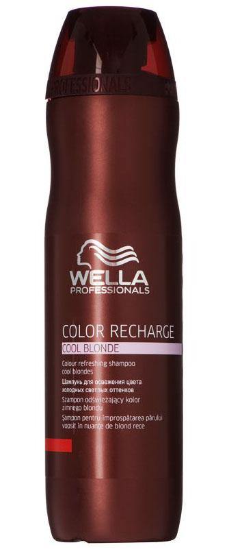 Wella Шампунь для освежения цвета Color Recharge светлых оттенков, 250 мл 252519