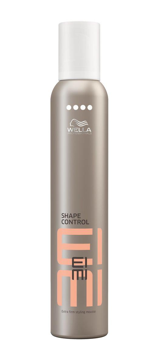 Wella Пена для укладки ультрасильной фиксации EIMI Shape Control, 300 мл81238241Пена для укладки со степенью фиксации 4 гарантирует получение экстремального объема.