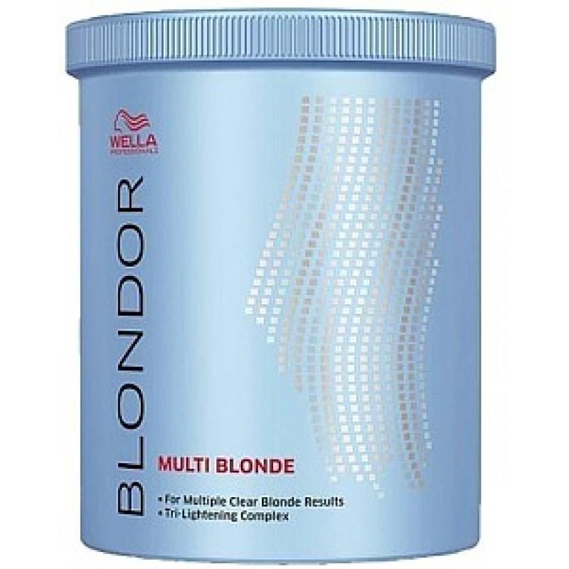 Wella Порошок для блондирования без образования пыли Blondor, 800 г81278564Wella BLONDOR Порошок для блондирования без образования пыли позволяет достичь идеального результата окрашивания без использования фольги. Предназначение порошка заключается в уровневом окрашивании или осветлении волос. Преимуществом средства есть то, что оно предназначено для многоцелевого применения в различных пропорциях смешивания. В составе основной компонент порошка это антижелтые молекулы. Они позволяют создать чистый, салонный вариант осветления волос. Активные компоненты на масляной основе, входящие в состав порошка, позволяют получать коже головы большое количество влаги и питания. Помимо этого они укрепляют структуру волоса, питая их изнутри. Для того чтобы достичь максимального результата от окрашивания нужно смешать порошок с эмульсией. Тогда волосы будут получать минимальное количество ожогов, сохраняя прежнюю густоту и силу.