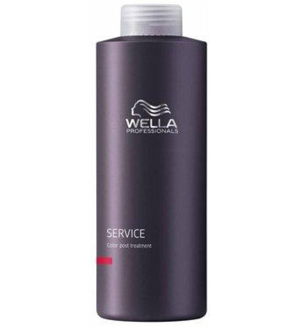 Wella Стабилизатор окраски Service Line, 1000 мл81384433Wella Service Line Стабилизатор окраски профессиональное ухаживающее средство для закрепления цвета волос после их окрашивания. Используется сразу после окрашивания волос, а также после каждой процедуры мытья, чтобы надолго сохранить интенсивность и яркость тона. Благодаря сбалансированному составу, обогащенному витаминами, минералами и другими питательными компонентами, стабилизатор окраски благоприятно влияет на структуру волос, восстанавливая поврежденные участки после окрашивания. Идеально подходит для всех типов волос. Регулярное использование Wella Service Line позволяет сохранить яркость цвета волос после процедуры их окрашивания в течение всего времени действия краски, а благодаря комплексу полезных веществ, входящим в состав стабилизатора локоны приобретают естественный блеск, упругость и эластичность. Стабилизатор Wella Service Line прекрасно сочетается с другими ухаживающими средствами за волосами.