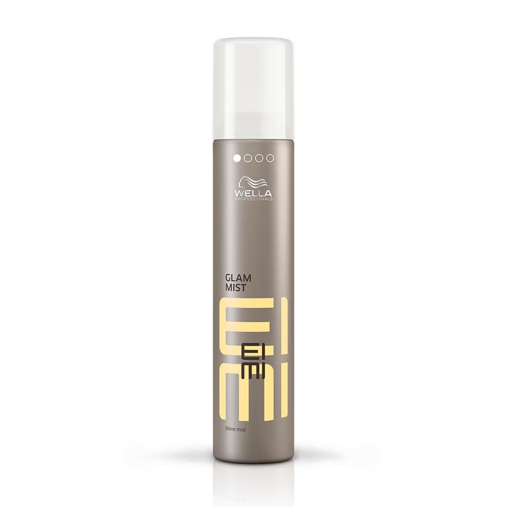 Wella Дымка-спрей для блеска EIMI Glam Mist, 200 мл81511637/4334Дымка-спрей для блеска Добавьте Вашей укладке ослепительной гламурности с помощью невесомого спрея, который окутывает волосы дымкой сияющего блеска. Защищает волосы от воздействия влаги и UV лучей. Что нового: Чарующий аромат.