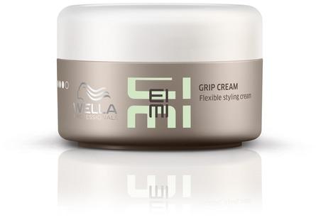 Wella Эластичный стайлинг-крем EIMI Grip Cream, 75мл81511740/7595Grip Cream -Эластичный стайлинг-крем Очень мягкий крем, который позволяет моделировать разные варианты укладки с выраженной текстурой на волосах любой длинны. Формула содержит карнаубский воск для сильной но эластичной фиксации.
