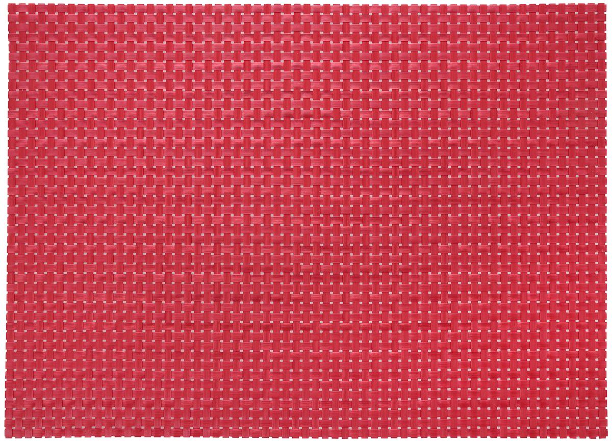 Салфетка сервировочная Tescoma Flair. Rustic, цвет: красный, 45 x 32 см662062Элегантная салфетка Tescoma Flair. Rustic, изготовленная из прочного искусственного текстиля, предназначена для сервировки стола. Она служит защитой от царапин и различных следов, а также используется в качестве подставки под горячее. После использования изделие достаточно протереть чистой влажной тканью или промыть под струей воды и высушить. Не рекомендуется мыть в посудомоечной машине, не сушить на отопительных приборах. Состав: синтетическая ткань.