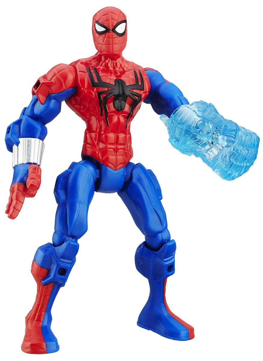 Hero Mashers Разборная фигурка Spider-ManA6825EU4_6071_синий/красныйРазборная фигурка Hero Mashers Spider-Man обязательно понравится любому маленькому поклоннику комиксов и мультфильмов о супергероях! Фигурка выполнена из прочного пластика в виде могучего супергероя Человека- паука. Голова, руки и ноги фигурки подвижны, вращаются и сгибаются, а также отделяются от корпуса. Фигурка совместима с другими фигурками из серии Super Hero Mashers. Собрав коллекцию фигурок от Hasbro, вы сможете создать своего супергероя, объединяя способности разных героев комиксов Marvel. Все элементы обладают единым способом крепления, что позволяет создавать различные комбинации. Порадуйте ребенка таким замечательным подарком!