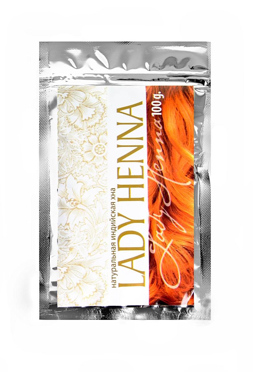 Lady Henna Хна для волос натуральная , 100 г8904003500494Лучшая в мире хна из провинции Раджастан окрашивает волосы в насыщенный классический рыжий цвет , придает им дополнительный объем и здоровый вид. Освежает и успокаивает кожу головы.