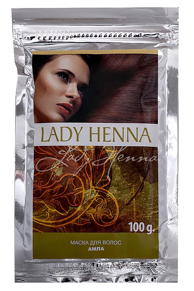 Lady Henna Маска Амла для укрепления волос, 100 г