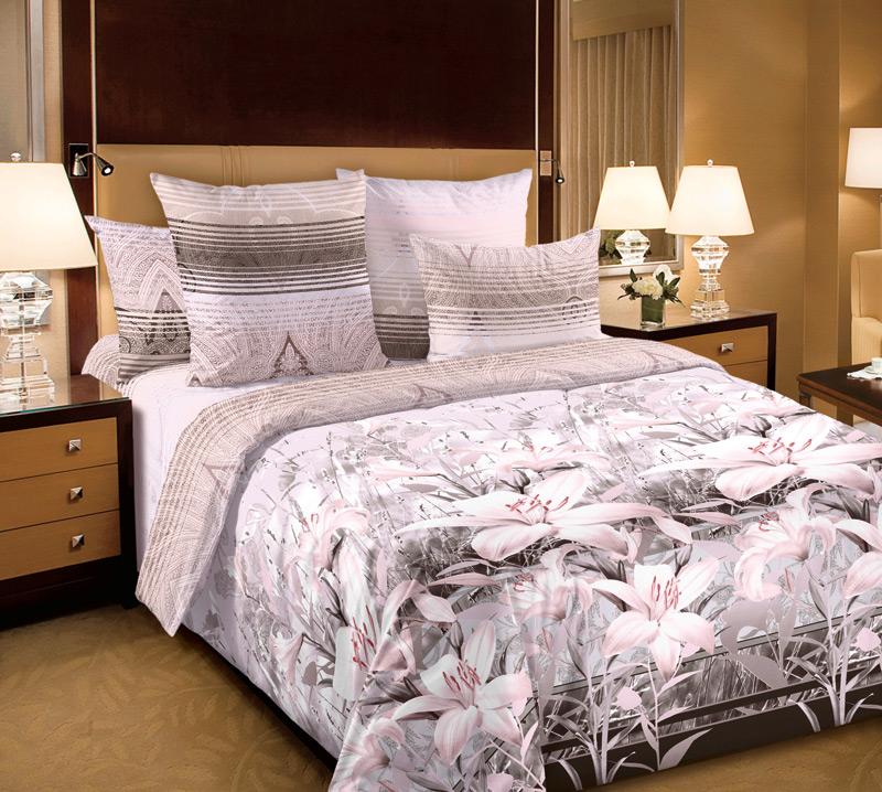 Комплект постельного белья 1,5 спальное из Перкаль Луиза 1,5сп 2н с комп.арт.1250П1250ППеркаль - это тонкая и легкая хлопчатобумажная ткань высокой плотности полотняного переплетения, сотканная из пряжи высоких номеров. При изготовлении перкаля используются длинноволокнистые сорта хлопка, что обеспечивает высокие потребительские свойства материала. Несмотря на свою утонченность, перкаль очень практичен – это одна из самых износостойких тканей для постельного белья.
