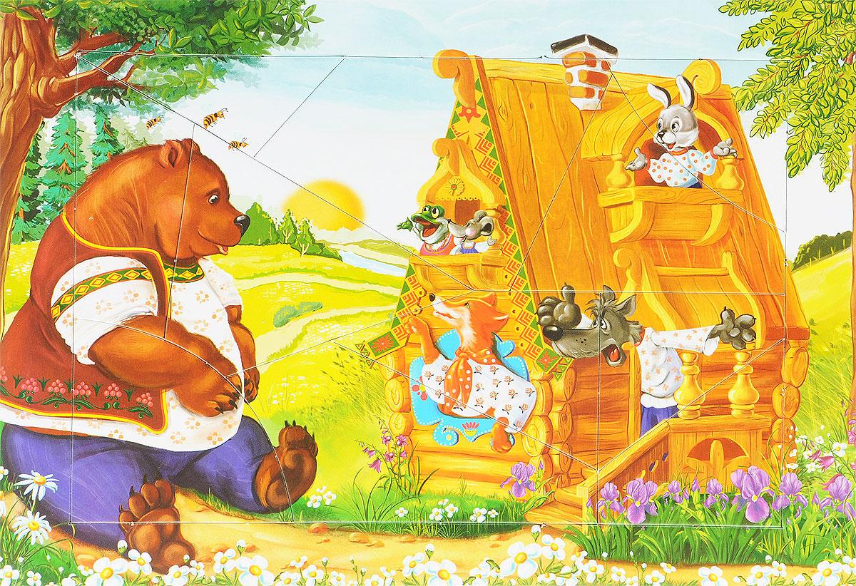 Русский стиль Пазл для малышей Теремок4207Необычные рамки с любимыми сказочными сюжетами помогут развить детское внимание, память, речь, мелкую моторику рук, наглядно-образное мышление, а также научат малышей составлять целую картинку из частей. Знакомые персонажи сделают обучение радостным и увлекательным, а элементы самопроверки позволят детям играть самостоятельно, без участия взрослого.