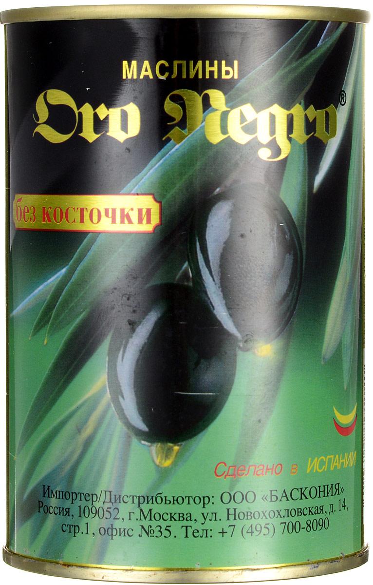 Oro Negro маслины без косточки, 480 г