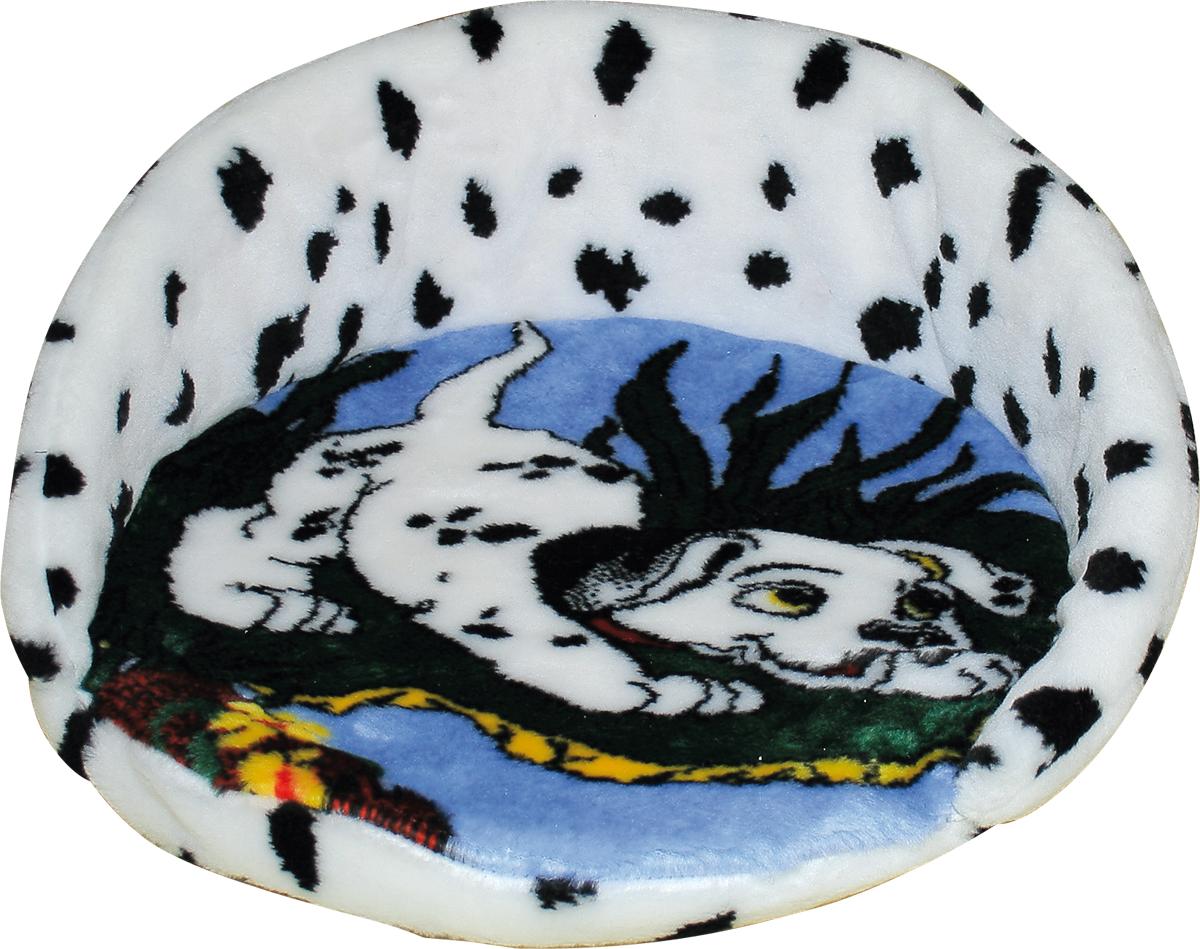 Лежак для животных Зооник Далматин, 46 х 21 см22137Мягкий лежак для животных Зооник Далматин обязательно понравится вашему питомцу. Он выполнен из высококачественного искусственного меха бело- черного цвета, а наполнитель - из поролона. Такой материал не теряет своей формы долгое время. Борта и съемная подстилка обеспечат вашему любимцу уют, а форма лежанки позволит удобно расположиться внутри. Лежак Зооник Далматин станет излюбленным местом вашего питомца, подарит ему спокойный и комфортный сон, а также убережет вашу мебель от многочисленной шерсти.