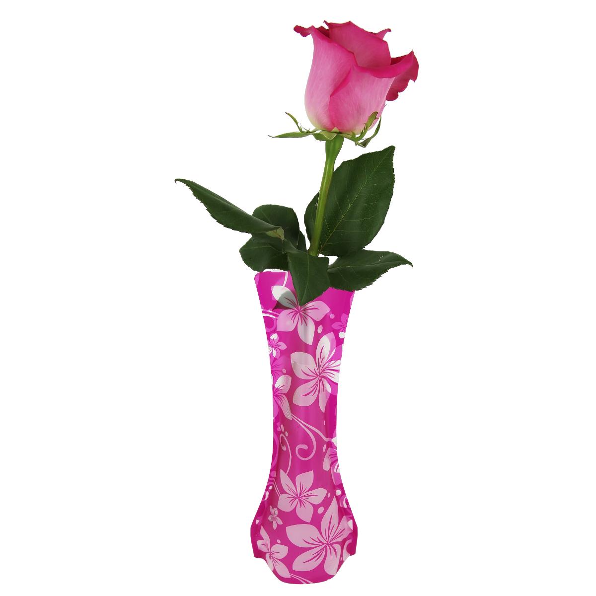 Ваза МастерПроф Красная орхидея, пластичная, 0,4 лHS.040037Пластичная ваза Красная орхидея легко складывается, удобно хранится - занимает мало места, долго служит. Всегда пригодится дома, в офисе, на даче, для оформления различных меропритятий. Отлично подойдет для перевозки цветов, или просто в подарок. Инструкция: 1. Наполните вазу теплой водой; 2. Дно и стенки расправятся; 3. Вылейте воду; 4. Наполните вазу холодной водой; 5. Вставьте цветы. Меры предосторожности: Хранить вдали от источников тепла и яркого солнечного света. С осторожностью применять для растений с длинными стеблями и с крупными соцветиями, что бы избежать опрокидывания вазы.
