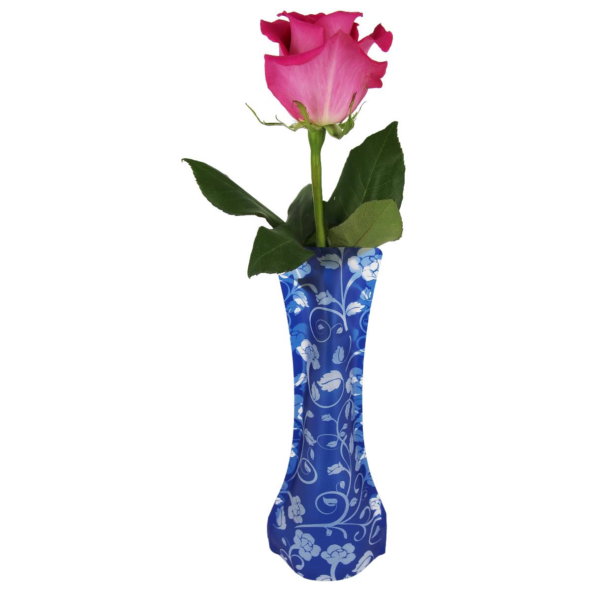 Ваза МастерПроф Синие бутоны, пластичная, 0,4 лHS.040038Пластичная ваза Синие бутоны легко складывается, удобно хранится - занимает мало места, долго служит. Всегда пригодится дома, в офисе, на даче, для оформления различных меропритятий. Отлично подойдет для перевозки цветов, или просто в подарок. Инструкция: 1. Наполните вазу теплой водой; 2. Дно и стенки расправятся; 3. Вылейте воду; 4. Наполните вазу холодной водой; 5. Вставьте цветы. Меры предосторожности: Хранить вдали от источников тепла и яркого солнечного света. С осторожностью применять для растений с длинными стеблями и с крупными соцветиями, что бы избежать опрокидывания вазы.