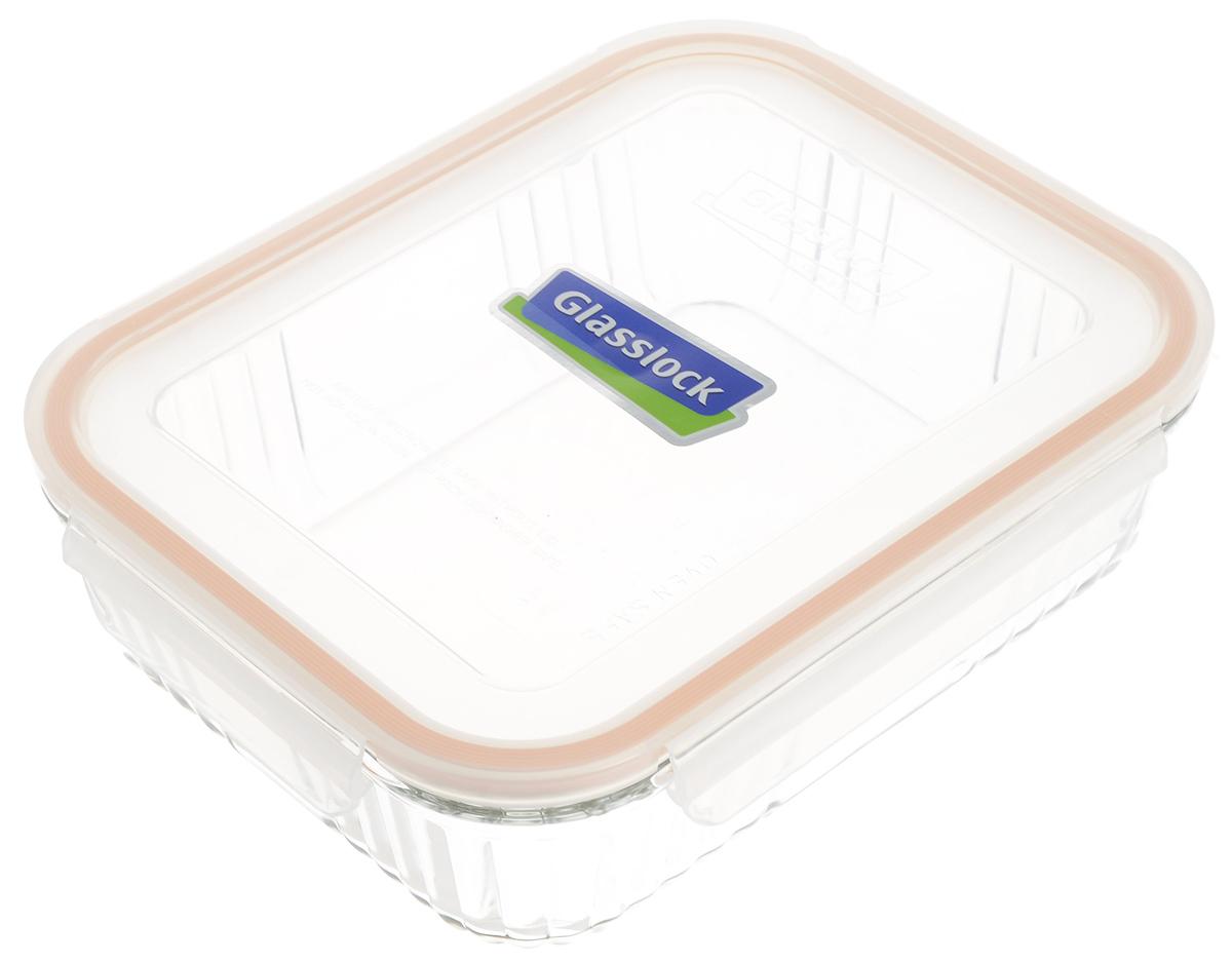 Контейнер для запекания Glasslock, цвет: прозрачный, оранжевый, 1,8 лOCRS-180Контейнер для запекания Glasslock изготовлен из высококачественного закаленного ударопрочного стекла. Герметичная крышка, выполненная из пластика и снабженная уплотнительной резинкой, надежно закрывается с помощью четырех защелок. Подходит для мытья в посудомоечной машине, хранения в холодильных и морозильных камерах, использования в микроволновых печах и духовке. Выдерживает резкий перепад температур (до +230°С). Стеклянная посуда нового поколения от Glasslock экологична, не содержит токсичных и ядовитых материалов; превосходная герметичность позволяет сохранять свежесть продуктов; покрытие не впитывает запах продуктов; имеет утонченный европейский дизайн - прекрасное украшение стола. Размер контейнера по верхнему краю: 23 х 18 см. Высота контейнера (с учетом крышки): 7 см.