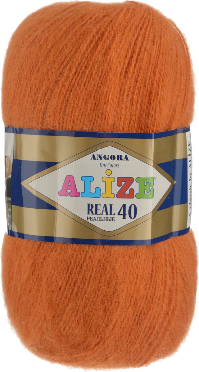 Пряжа для вязания Alize Angora Real, цвет: терракотовый (89), 480 м, 100 г, 5 шт551390_89Alize Angora Real - это ровная, тонкая и пушистая пряжа, изготовленная из 60% акрила и 40% шерсти. Нить не вытягивается, достаточно прочная и крепкая. Такая пряжа идеально подойдет для вязания зимних вещей (шарфов, жилетов, пуловеров) с различными ажурными узорами. Вещи, связанные из этой пряжи, хорошо и долго носятся, не линяют. Предназначена для ручного вязания спицами и крючком. Рекомендуемый размер спиц 2,5-5 мм и крючка 1-4 мм.