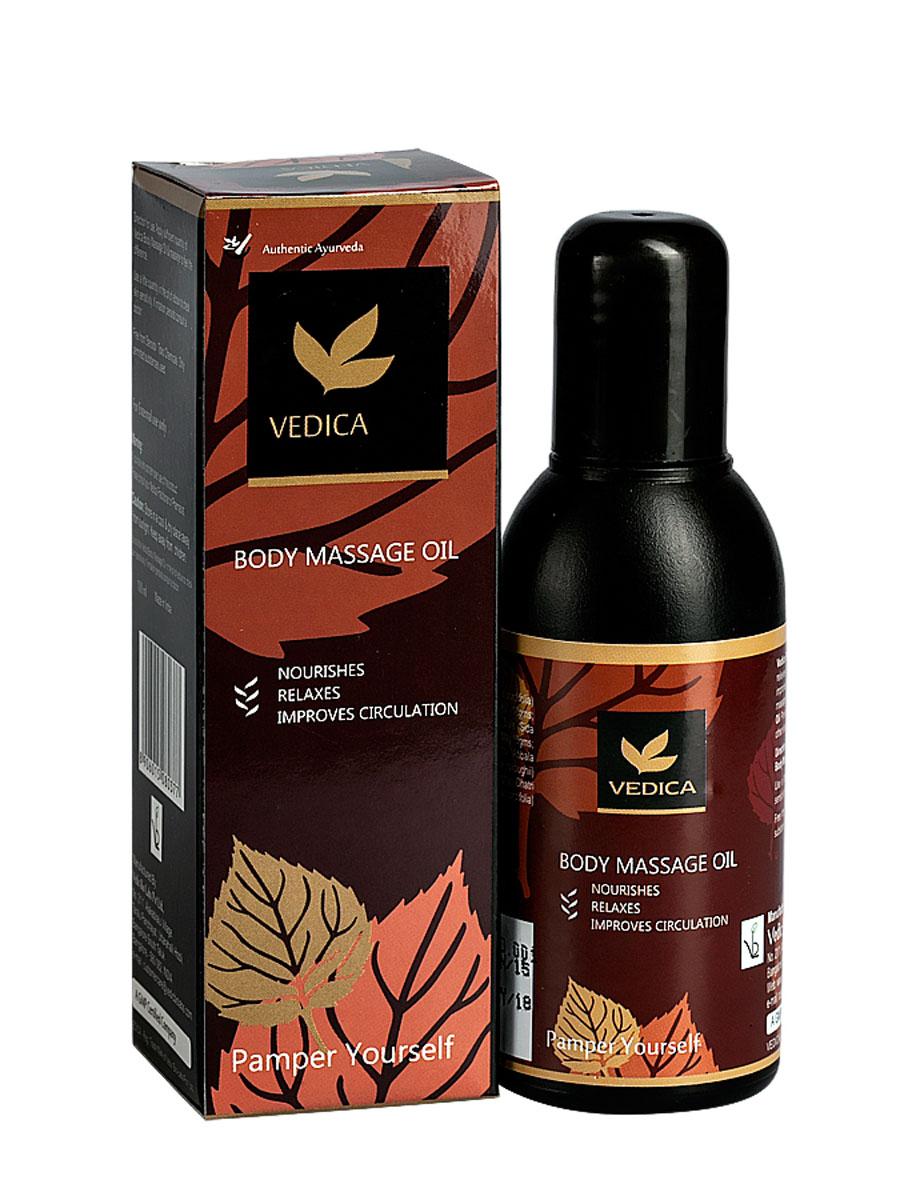 Vedica Масло Массажное, 100 мл8906015080377Композиция натуральных растительных масел и экстрактов с лечебными свойствами успокаивает кожу, снимает нервное напряжение, стимулирует кровообращение. Смягчает и увлажняет сухую, огрубевшую кожу. Рекомендуется для расслабляющего, успокаивающего массажа и профилактики целлюлита.