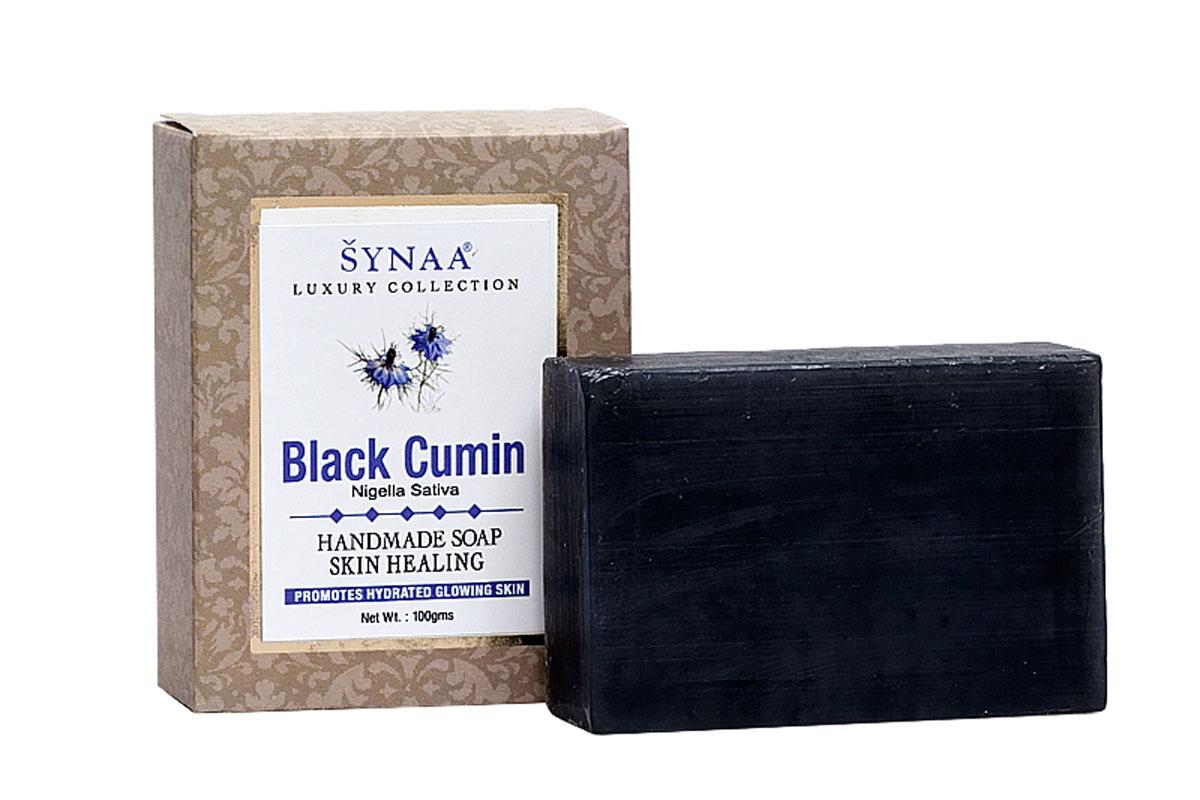 Synaa мыло ручной работы Черный тмин, 100 г