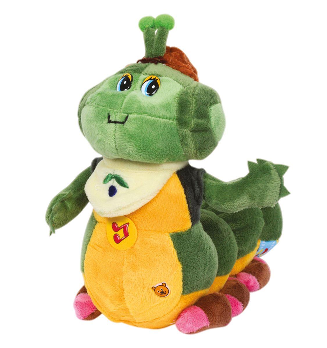 Мульти-Пульти Мягкая игрушка Гусеница прогульщикV37160/25S19Мягкая игрушка сама по себе ассоциируется с радостью и весельем, конечно, и для наших детей такой подарок станет поистине незабываемым. Забавные, добрые мягкие игрушки радуют детей с самого рождения. Ведь уже в первые месяцы жизни ребенок проявляет интерес к плюшевым зверятам и необычным персонажам. Сначала они помогают ему познавать окружающий мир через тактильные ощущения, знакомят его с животным миром нашей планеты, формируют цветовосприятие и способствуют концентрации внимания.