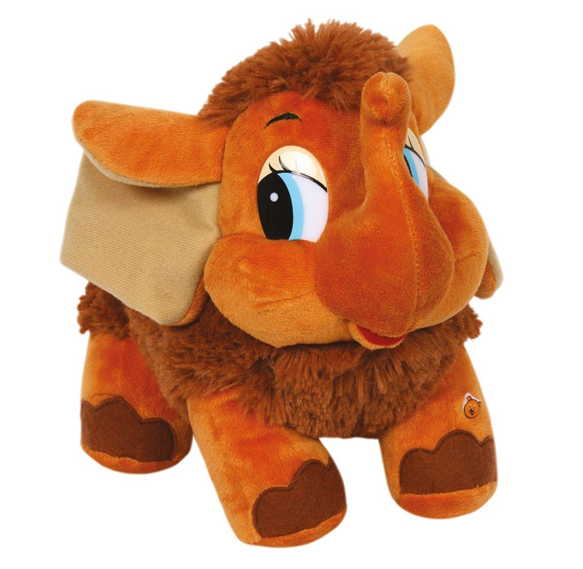 Мульти-Пульти Мягкая игрушка Мамонтенок озвученная 25 смV85111/25S28Мягкая игрушка сама по себе ассоциируется с радостью и весельем, конечно, и для наших детей такой подарок станет поистине незабываемым. Забавные, добрые мягкие игрушки радуют детей с самого рождения. Ведь уже в первые месяцы жизни ребенок проявляет интерес к плюшевым зверятам и необычным персонажам. Сначала они помогают ему познавать окружающий мир через тактильные ощущения, знакомят его с животным миром нашей планеты, формируют цветовосприятие и способствуют концентрации внимания.
