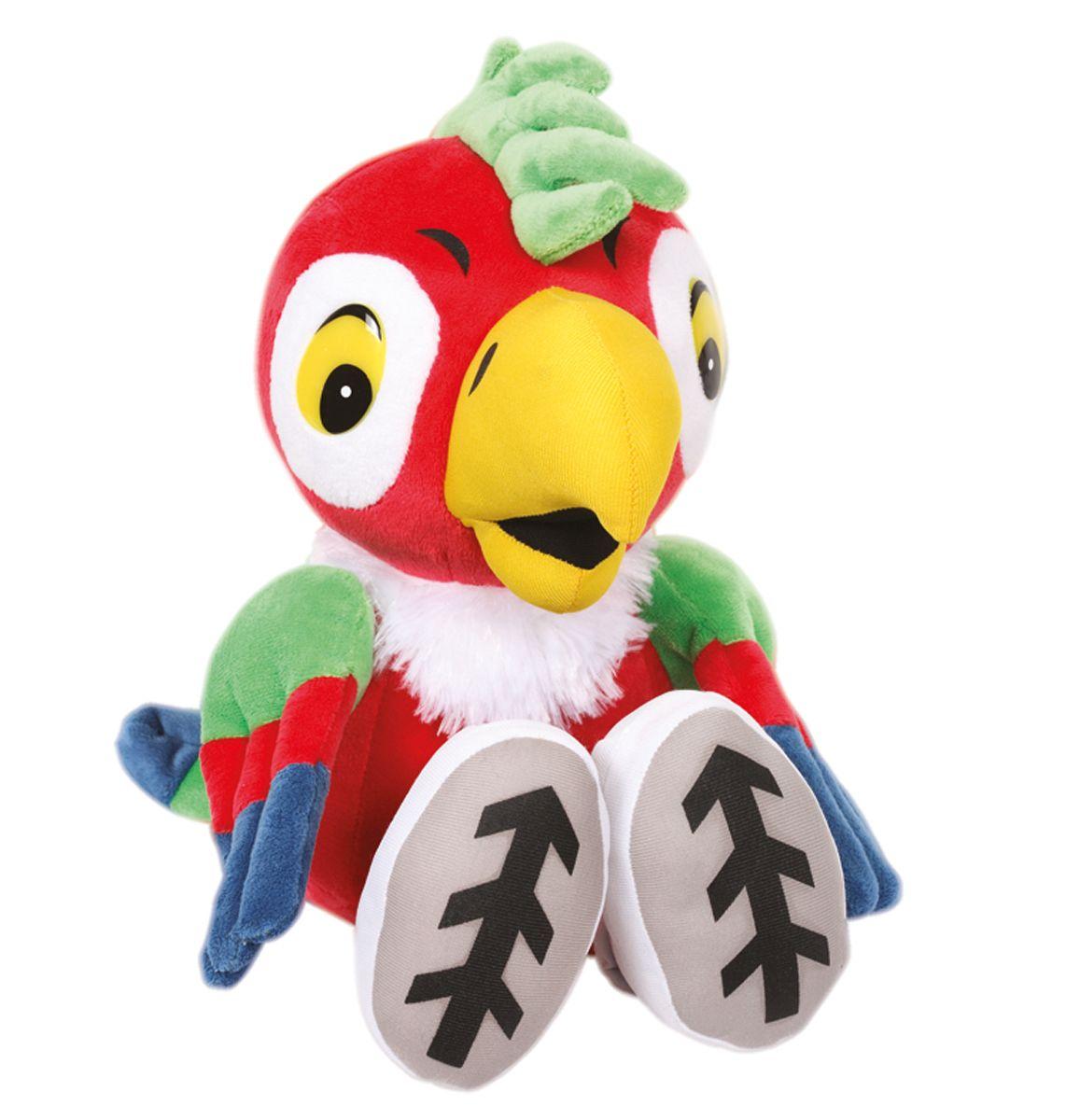 Мульти-Пульти Мягкая игрушка попугай Кеша 15 смV36282/15S17Мягкая игрушка сама по себе ассоциируется с радостью и весельем, конечно, и для наших детей такой подарок станет поистине незабываемым. Забавные, добрые мягкие игрушки радуют детей с самого рождения. Ведь уже в первые месяцы жизни ребенок проявляет интерес к плюшевым зверятам и необычным персонажам. Сначала они помогают ему познавать окружающий мир через тактильные ощущения, знакомят его с животным миром нашей планеты, формируют цветовосприятие и способствуют концентрации внимания. Игрушка воспроизводит звуки и фразы из мультфильма.