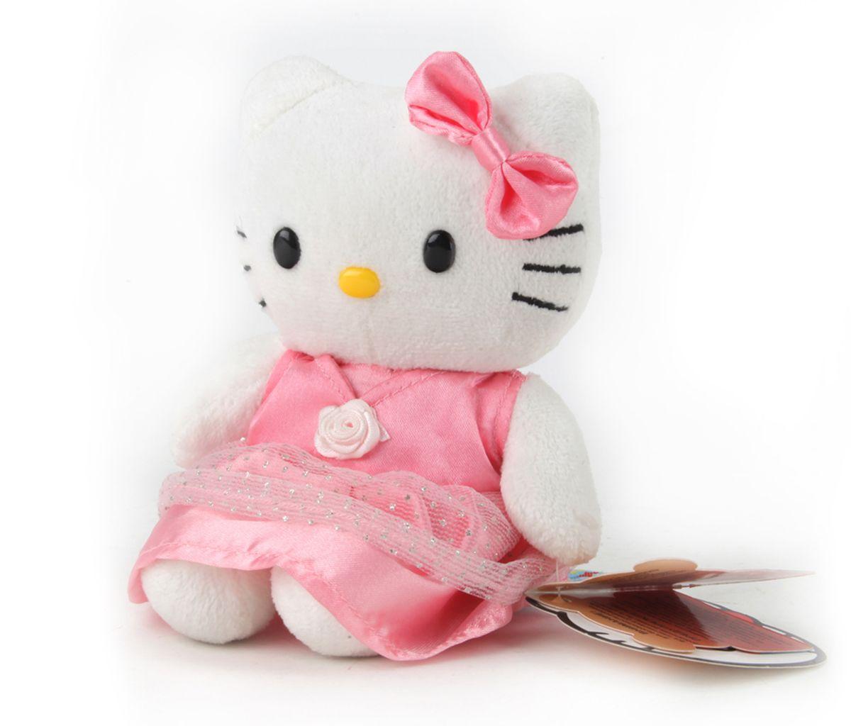 Мульти-Пульти Мягкая игрушка Hello Kitty 14 смV26750/14Мягкая игрушка сама по себе ассоциируется с радостью и весельем, конечно, и для наших детей такой подарок станет поистине незабываемым. Забавные, добрые мягкие игрушки радуют детей с самого рождения. Ведь уже в первые месяцы жизни ребенок проявляет интерес к плюшевым зверятам и необычным персонажам. Сначала они помогают ему познавать окружающий мир через тактильные ощущения, знакомят его с животным миром нашей планеты, формируют цветовосприятие и способствуют концентрации внимания.