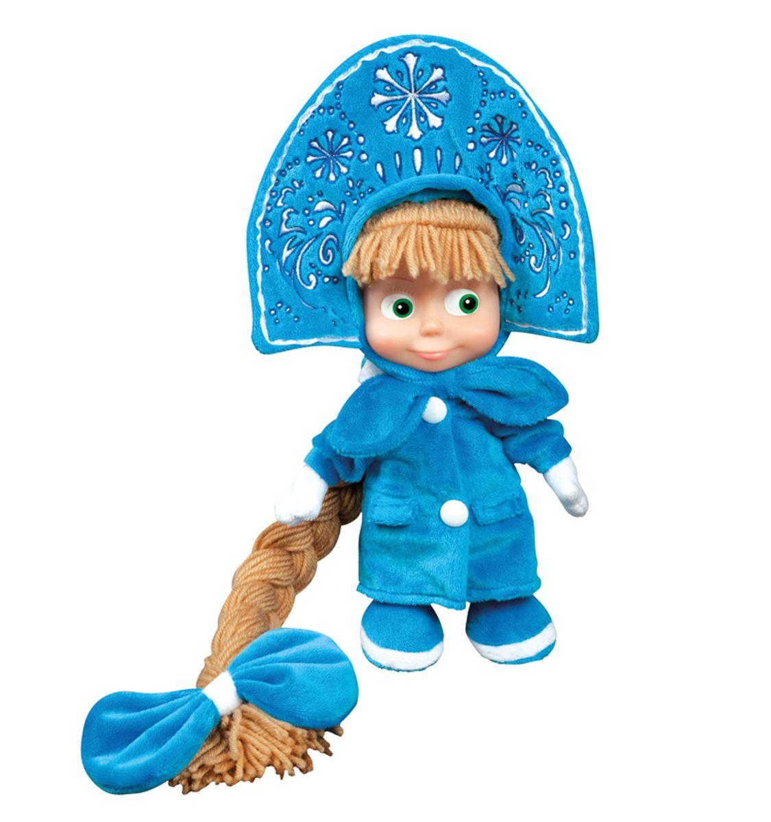 Мульти-Пульти Мягкая игрушка Маша-снегурочка 25 смV86108/25Мягкая игрушка сама по себе ассоциируется с радостью и весельем, конечно, и для наших детей такой подарок станет поистине незабываемым. Забавные, добрые мягкие игрушки радуют детей с самого рождения. Ведь уже в первые месяцы жизни ребенок проявляет интерес к плюшевым зверятам и необычным персонажам. Сначала они помогают ему познавать окружающий мир через тактильные ощущения, знакомят его с животным миром нашей планеты, формируют цветовосприятие и способствуют концентрации внимания.