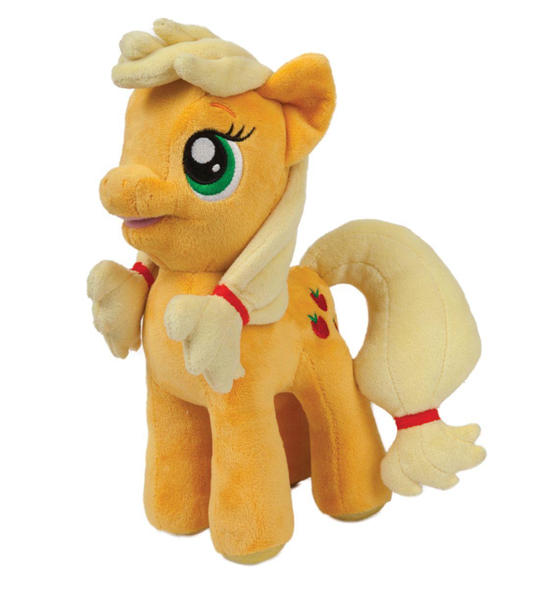 Мульти-Пульти Мягкая игрушка Пони ЭпплджекV27480/23Мягкая игрушка сама по себе ассоциируется с радостью и весельем, конечно, и для наших детей такой подарок станет поистине незабываемым. Забавные, добрые мягкие игрушки радуют детей с самого рождения. Ведь уже в первые месяцы жизни ребенок проявляет интерес к плюшевым зверятам и необычным персонажам. Сначала они помогают ему познавать окружающий мир через тактильные ощущения, знакомят его с животным миром нашей планеты, формируют цветовосприятие и способствуют концентрации внимания.