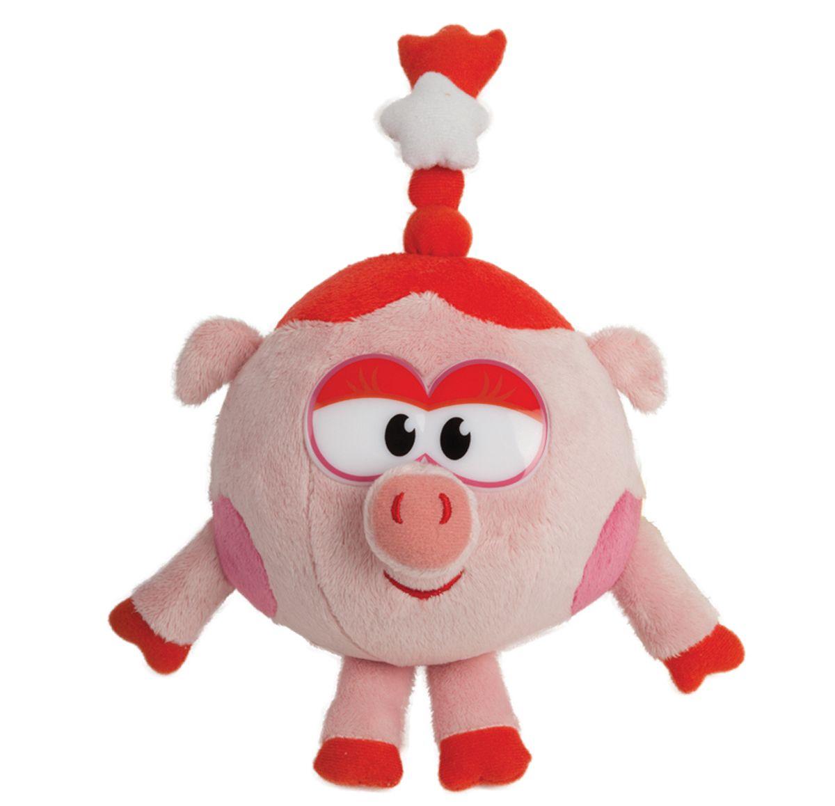 Мульти-Пульти Мягкая игрушка Нюша 10 смV91734/10Мягкая игрушка сама по себе ассоциируется с радостью и весельем, конечно, и для наших детей такой подарок станет поистине незабываемым. Забавные, добрые мягкие игрушки радуют детей с самого рождения. Ведь уже в первые месяцы жизни ребенок проявляет интерес к плюшевым зверятам и необычным персонажам. Сначала они помогают ему познавать окружающий мир через тактильные ощущения, знакомят его с животным миром нашей планеты, формируют цветовосприятие и способствуют концентрации внимания.