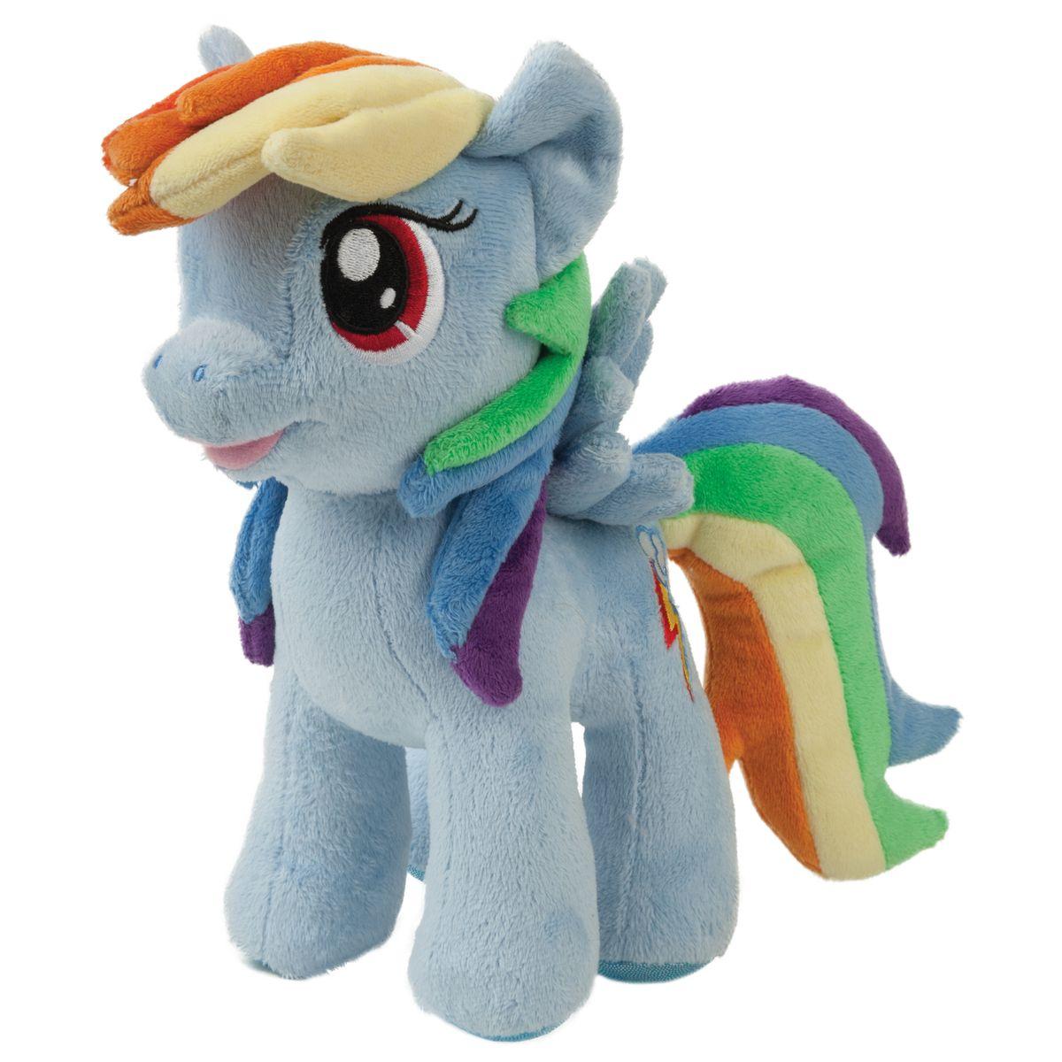 Мульти-Пульти Мягкая игрушка Пони Радуга 23 смV27483/23Мягкая игрушка сама по себе ассоциируется с радостью и весельем, конечно, и для наших детей такой подарок станет поистине незабываемым. Забавные, добрые мягкие игрушки радуют детей с самого рождения. Ведь уже в первые месяцы жизни ребенок проявляет интерес к плюшевым зверятам и необычным персонажам. Сначала они помогают ему познавать окружающий мир через тактильные ощущения, знакомят его с животным миром нашей планеты, формируют цветовосприятие и способствуют концентрации внимания.