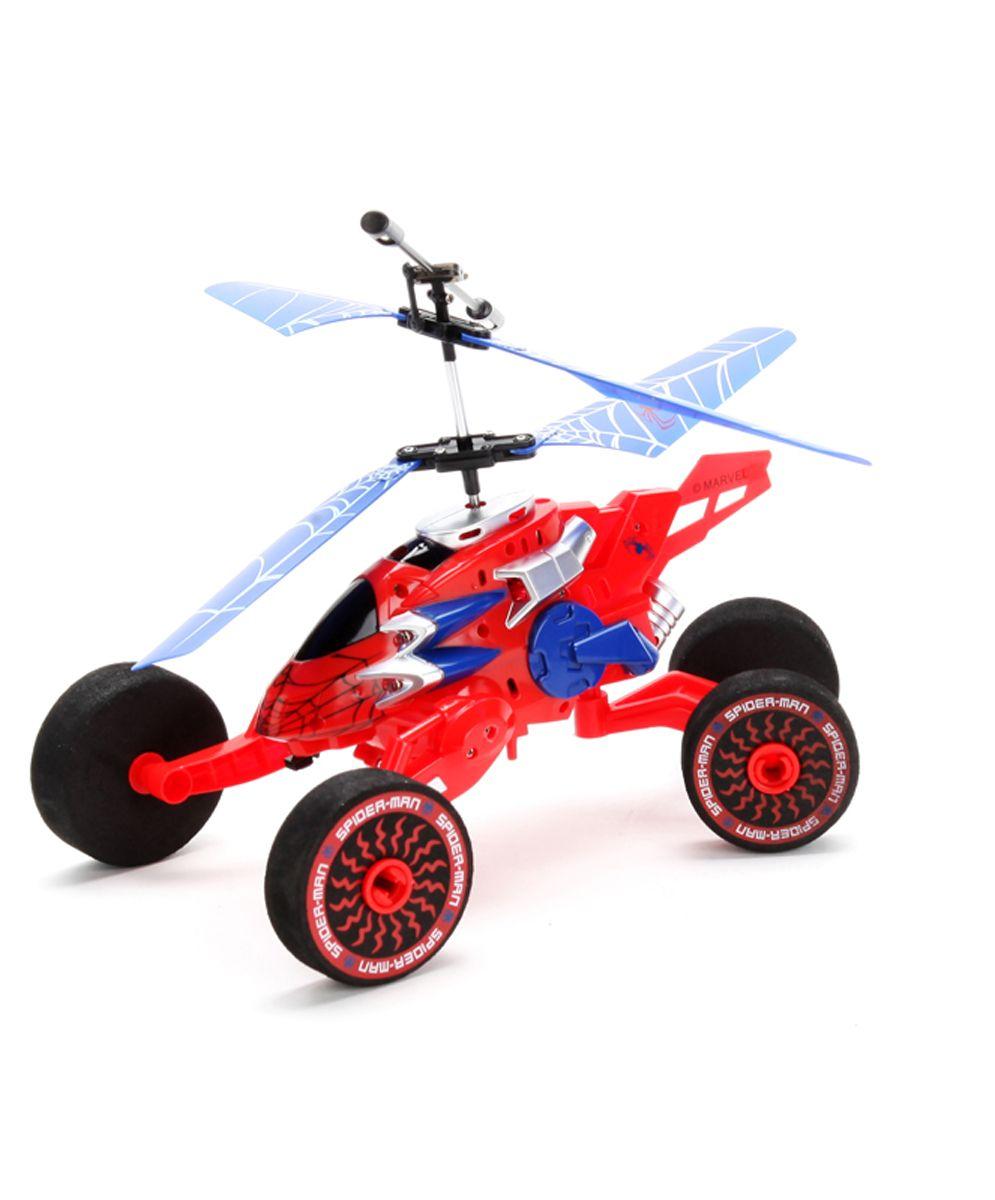 ТехноПарк Вертолет на радиоуправлении Человек-паукW808-8Вертолет обладает ярким дизайном, возможна подзарядка от USВ, гироскоп. Летает, ездит по любой поверхности, также с ним можно играть в темное время, т.к. он снабжен световыми огнями.