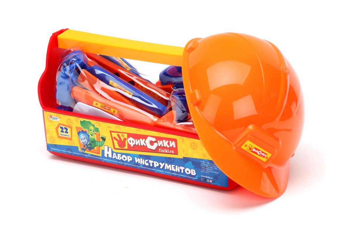 Играем вместе Набор строительных инструментов с каской