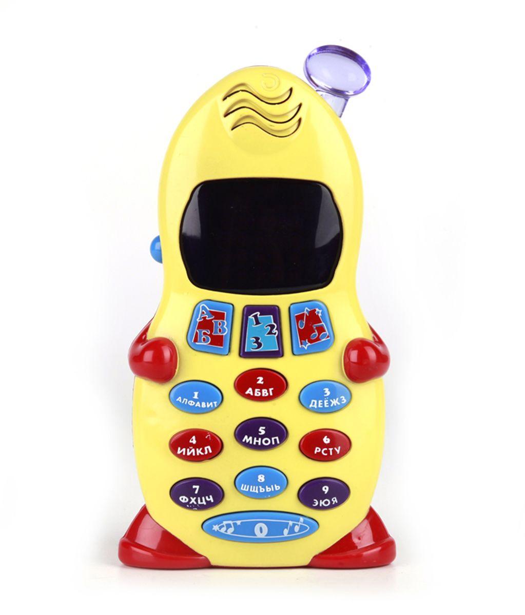 Умка Обучающий телефон Винни-пухB391566-R24 обучающие программы: Учим буквы от А до Я, Запоминаем цифры от 0 до 9, Изучаем последовательность букв в алфавите, Изучаем порядок цифр, 5 песенки из м/ф, Рингтоны и телефонные фразы
