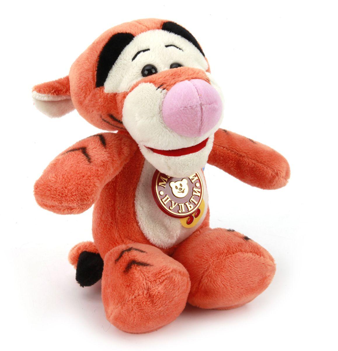 Мульти-Пульти Мягкая игрушка Тигруля 16 смST0034Мягкая игрушка сама по себе ассоциируется с радостью и весельем, конечно, и для наших детей такой подарок станет поистине незабываемым. Забавные, добрые мягкие игрушки радуют детей с самого рождения. Ведь уже в первые месяцы жизни ребенок проявляет интерес к плюшевым зверятам и необычным персонажам. Сначала они помогают ему познавать окружающий мир через тактильные ощущения, знакомят его с животным миром нашей планеты, формируют цветовосприятие и способствуют концентрации внимания.