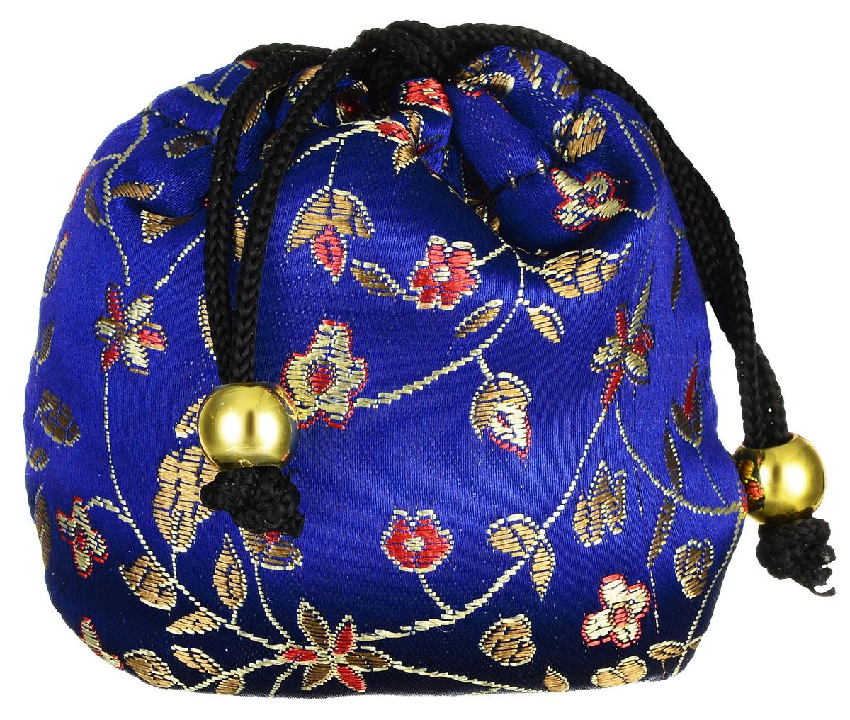 Masura Шелковый мешочек Ацуи для горячего и холодного массажа, цвет: синий804-1Шелковый мешочек Masura Ацуи применяется для холодного и горячего массажа рук и ароматерапии при проведении процедуры Японский маникюр. Изделие, оформленное цветочной вышивкой, затягивается на кулиску с декоративными бусинами. Наполнен мешочек морской солью, сухоцветами и аромамаслами. Материал мешочка: текстиль, пластик. Размер наполненного мешочка: 6,5 см х 6,5 см х 5 см. Товар сертифицирован.