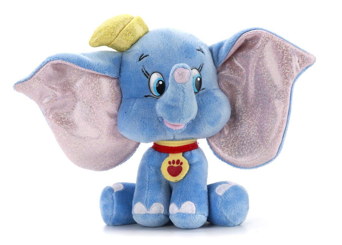 Мульти-Пульти Мягкая игрушка ДамбоV72003/16Мягкая игрушка сама по себе ассоциируется с радостью и весельем, конечно, и для наших детей такой подарок станет поистине незабываемым. Забавные, добрые мягкие игрушки радуют детей с самого рождения. Ведь уже в первые месяцы жизни ребенок проявляет интерес к плюшевым зверятам и необычным персонажам. Сначала они помогают ему познавать окружающий мир через тактильные ощущения, знакомят его с животным миром нашей планеты, формируют цветовосприятие и способствуют концентрации внимания.