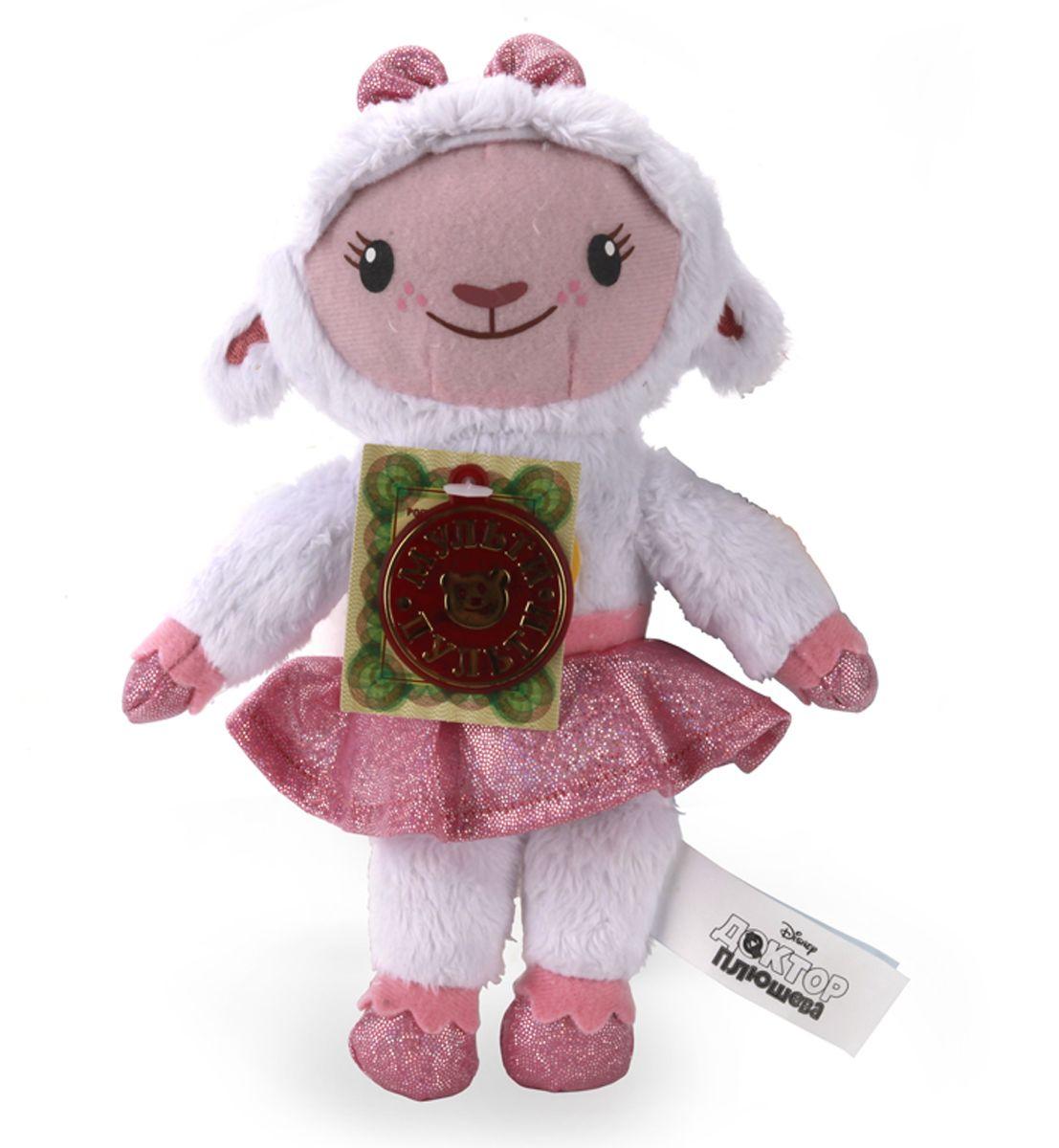 Мульти-Пульти Мягкая игрушка Доктор Плюшева ЛэммиV62038/18Мягкая игрушка сама по себе ассоциируется с радостью и весельем, конечно, и для наших детей такой подарок станет поистине незабываемым. Забавные, добрые мягкие игрушки радуют детей с самого рождения. Ведь уже в первые месяцы жизни ребенок проявляет интерес к плюшевым зверятам и необычным персонажам. Сначала они помогают ему познавать окружающий мир через тактильные ощущения, знакомят его с животным миром нашей планеты, формируют цветовосприятие и способствуют концентрации внимания.