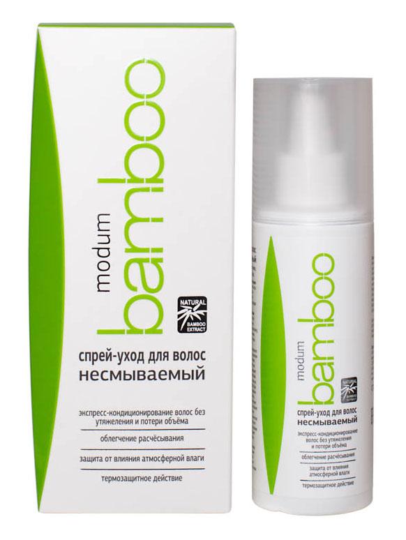 Modum Bamboo Спрей-уход для волос несмываемый, 150 мл