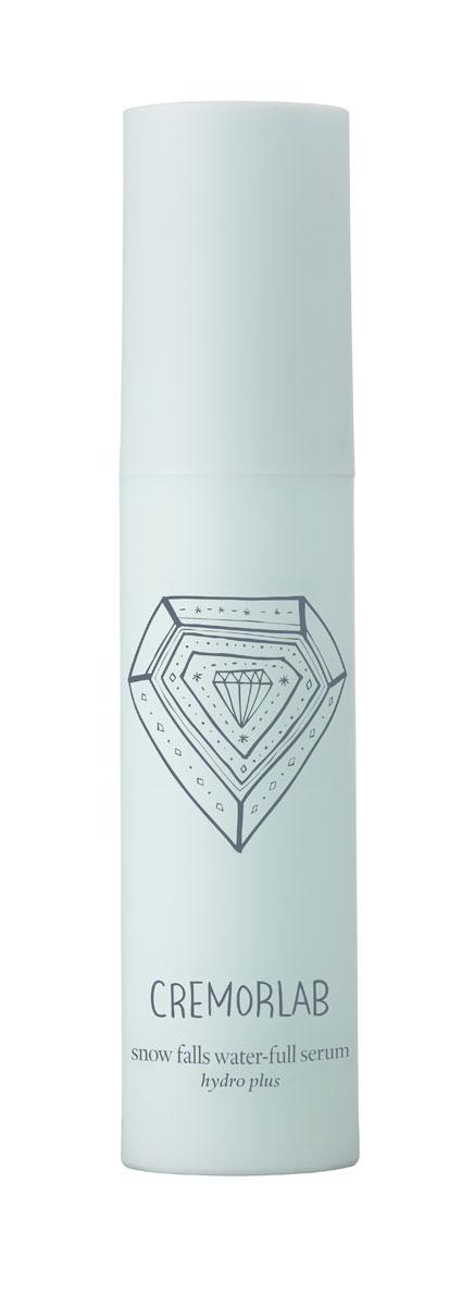 Cremorlab Hydro Plus Интенсивно увлажняющая сыворотка с экстрактом эдельвейса Snow Falls Water-Full Serum, 30 мл61263Высокоэффективная увлажняющая формула сыворотки, в которой природная минеральная вода обогащенная экстрактом эдельвейса и гиалуроновой кислотой, интенсивно увлажняет глубокие слои кожи и дарит ощущение бесконечной свежести. Активные ингредиенты успокаивают кожу, восстанавливают ее бархатистость, возвращают эластичность, сохраняют молодость, защищают кожу от потери влаги, придают тонус. Морской коллаген активизирует клеточный метаболизм, эффективно замедляет процессы старения, насыщает кожу жизненной энергией. После нанесения сыворотка не оставляет пленки и ощущение липкости. Не содержит парабенов, спиртов, искусственных красителей, PABA, талька, вазелина, бензофенона и сульфатов. Подходит для всех типов и состояний кожи. Объем: 30 мл