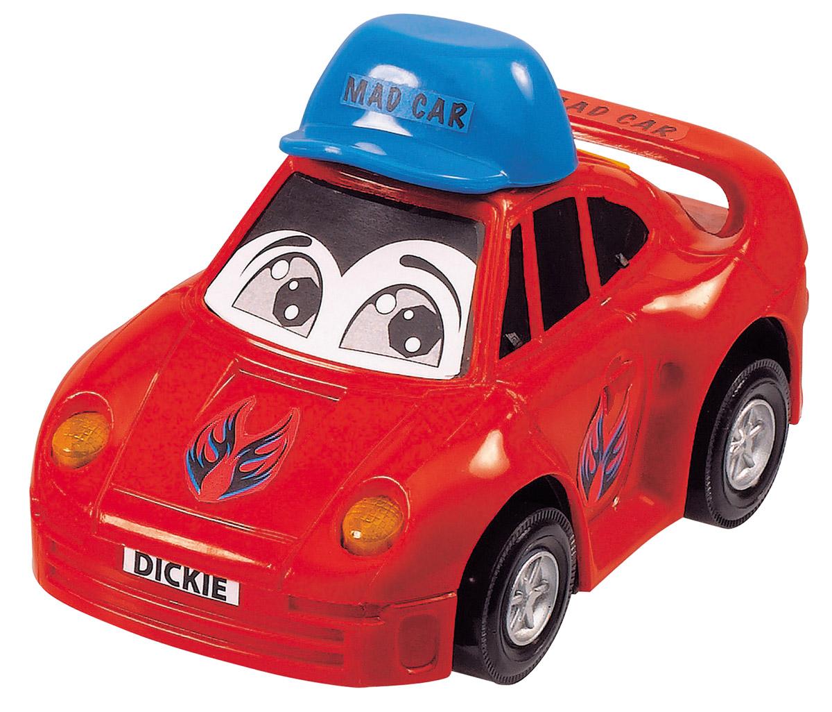 Dickie Toys Веселая машинка цвет красный
