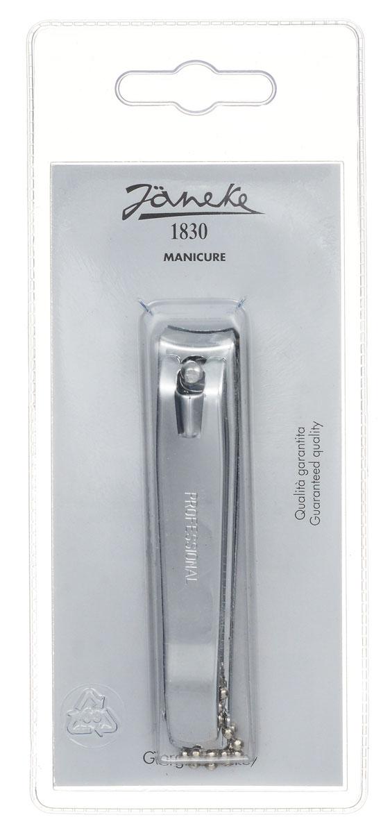 Janeke Кусачки-книпсер для ногтей. MP210CR566499Кусачки для ногтей Janeke выполнены из высококачественной стали и прекрасно подойдут как для домашнего использования, так и для использования профессионалами. Отсутствие острых концов этого аксессуара сделает его использование еще безопаснее: он идеально подойдет для использования при уходе за ногтями детей. С их помощью вы придадите правильную округлую форму своим ногтям. Товар сертифицирован.