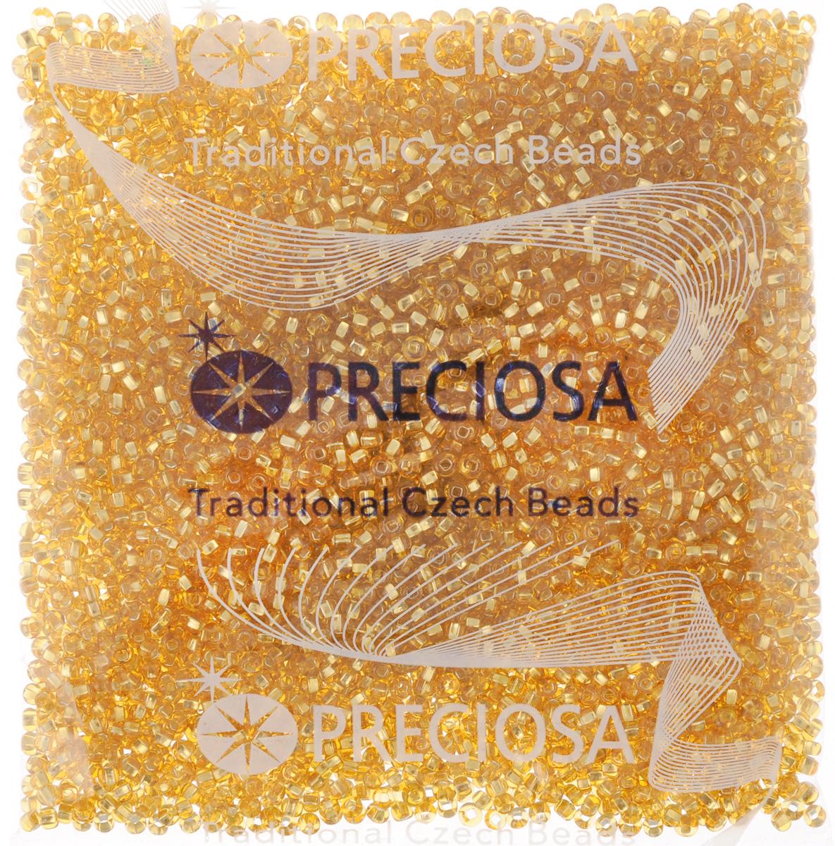 Бисер Preciosa Ассорти, прозрачный, с радужным покрытием, цвет: золотистый (03), 10/0, 50 г163142_03_золотойБисер Preciosa Ассорти, изготовленный из стекла круглой формы, позволит вам своими руками создать оригинальные ожерелья, бусы или браслеты, а также заняться вышиванием. В бисероплетении часто используют бисер разных размеров и цветов. Он идеально подойдет для вышивания на предметах быта и женской одежде. Изготовление украшений - занимательное хобби и реализация творческих способностей рукодельницы, это возможность создания неповторимого индивидуального подарка.